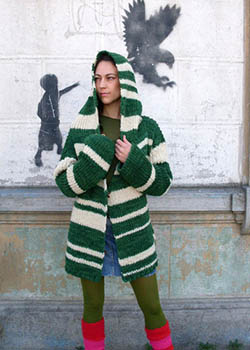 Knitted independent design from Chile